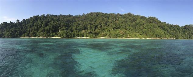 Surin Island beach