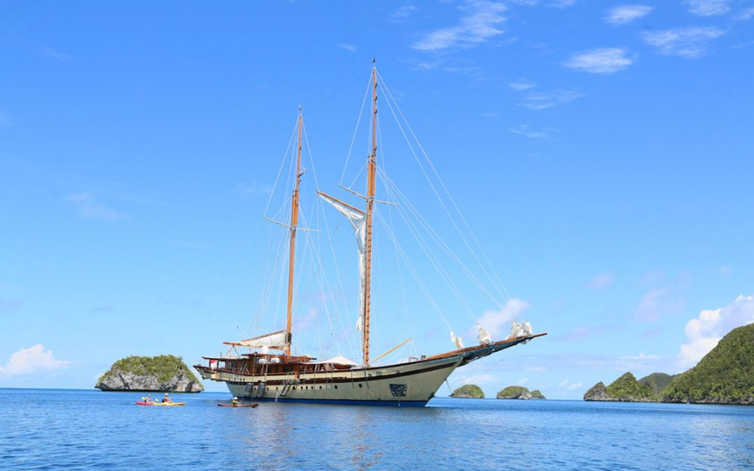 Maiden Luxury Cruise in Raja Ampat Indonesia