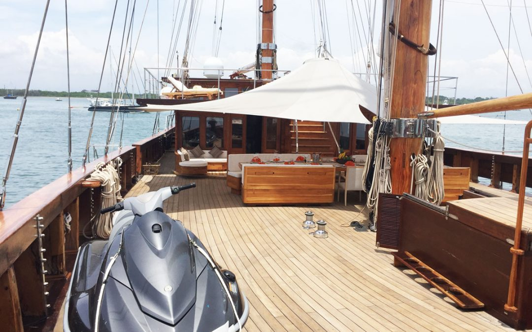 Luxury Sailing Yacht Charter, Komodo to Bali