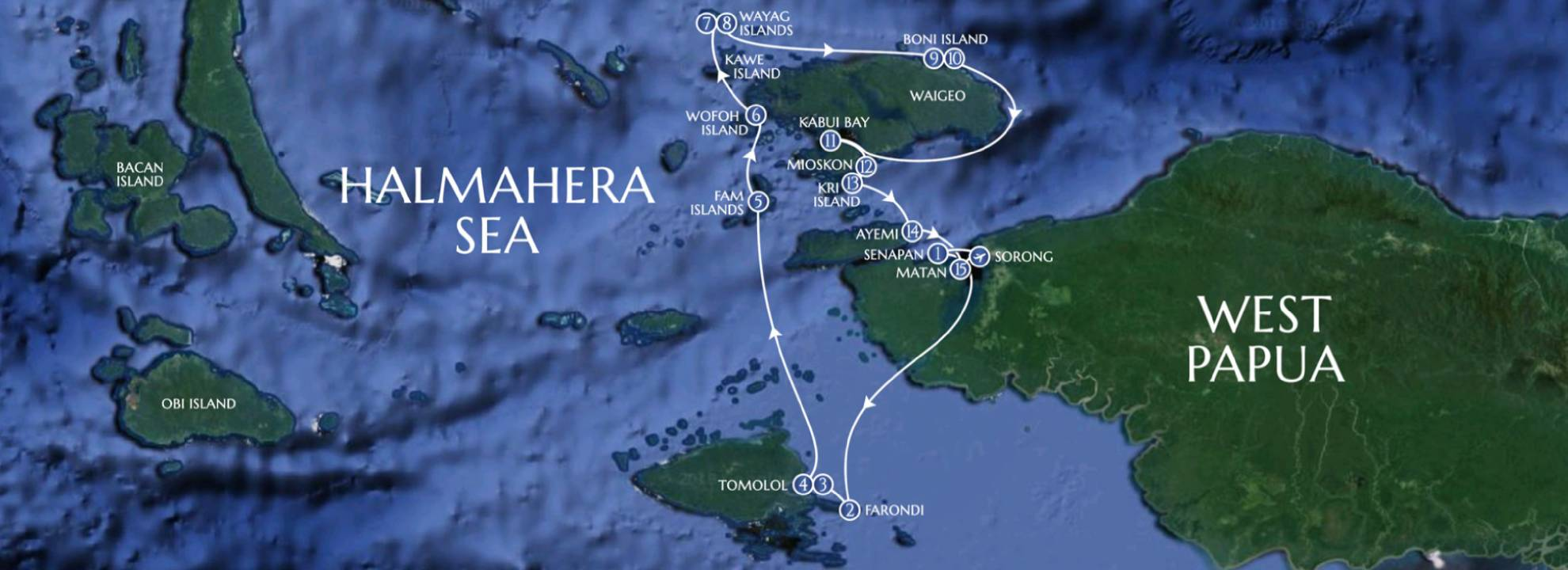 Greater Raja Ampat - LAMIMA Luxury Sailing Yacht