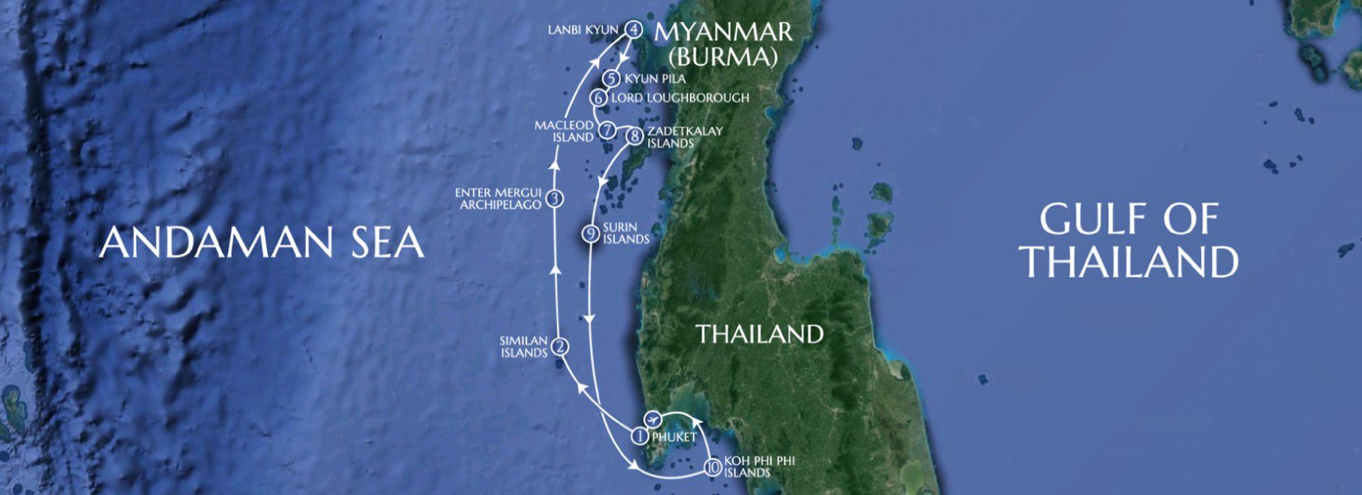Phuket to Koh Phi Phi - LAMIMA Luxury Sailing Yacht