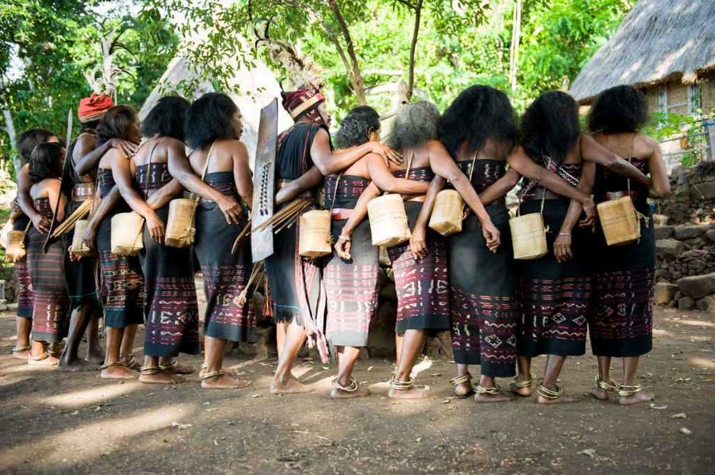 Traditional dances of Takpala Village tribe (Abui tribe).