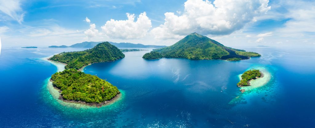 Banda Islands, Mollucas archipelago, Indonesia