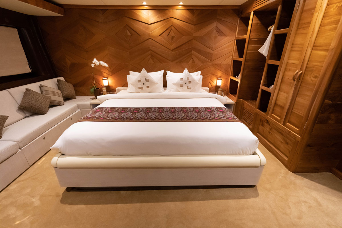 Guest Cabin 4 (Swordfish) 2 - LAMIMA Luxury Sailing Yacht