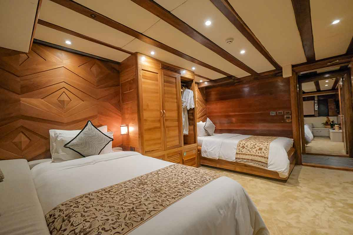 Guest Cabin 1 (Crab) - LAMIMA Luxury Sailing Yacht