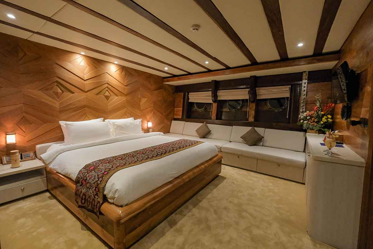 Guest Cabin 6 (Manta) - LAMIMA Luxury Sailing Yacht